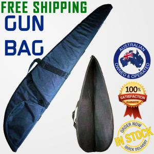 RIFLE BAG GUN CASE BAG FABRIC COVER FOAM PADDED HUNTING SHOTGUN