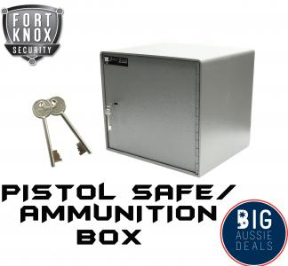 6mm Pistol Hand Gun Safe Ammunition Ammo Box Australian Regulation Compliant