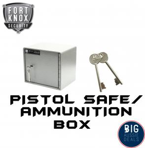 Pistol Safe hand Gun Ammunition Box Australian Regulation Compliant Ammo Box