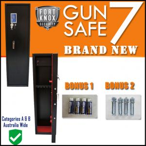 7 GUN SAFE - DIGITAL