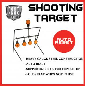 SHOOTING TARGET METAL GALLERY AIRIFLE AUTO RESETTING HUNTING AIR GUN RIFLE