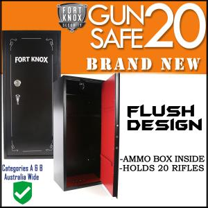 20 GUN SAFE KEY ONLY