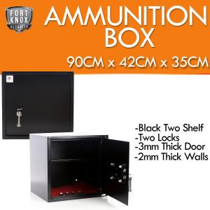 Gun Safe Ammunition Storage Ammo Box Australian Regulation Compliant 400mm x 420mm x 350mm