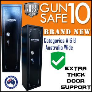 10 GUN SAFE MECHANICAL