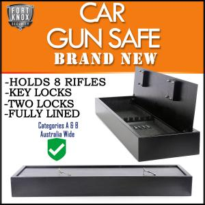 CAR CARAVAN GUN SAFE