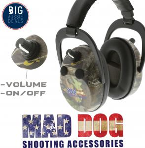 EARMUFFS SHOOTING ELECTRONIC GUN HUNTING HEARING NOISE PROTECTION EAR MUFFS