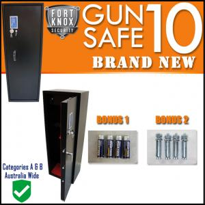10 GUN SAFE 3mm BODY