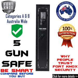 5 GUN SAFE - Digital