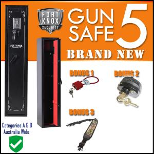 5 GUN SAFE - DIGITAL BONUS